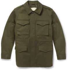 A.P.C. Cotton-Twill Field Jacket with Detachable Lining