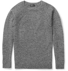 A.P.C. Crew Neck Lambswool Sweater