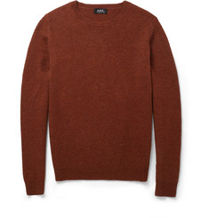 A.P.C. Knitted Wool Sweater