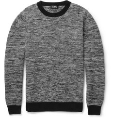 A.P.C. Crew Neck Merino Wool Sweater