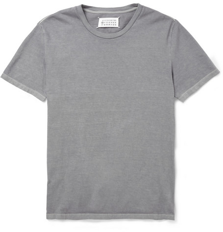 Maison Martin Margiela Washed Cotton-Jersey T-Shirt