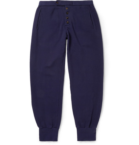 Maison Martin Margiela Regular-Fit Loopback Cotton-Jersey Sweatpants
