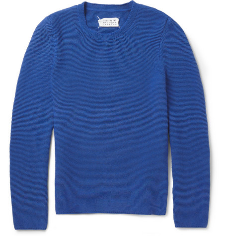 Maison Martin Margiela Chunky Knit Cotton Sweater