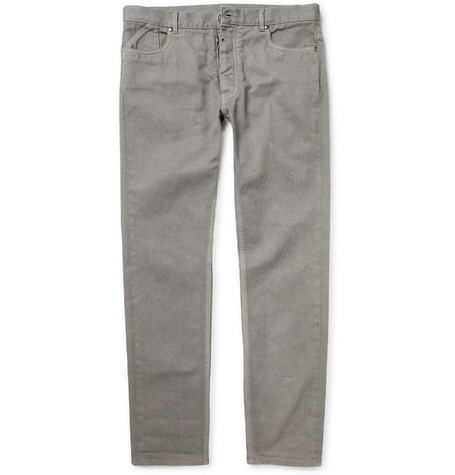 Maison Martin Margiela Slim-Fit Dry Denim Jeans