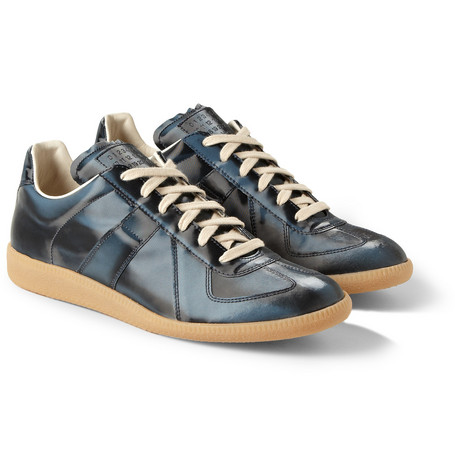 Maison Martin Margiela Metallic Leather Sneakers