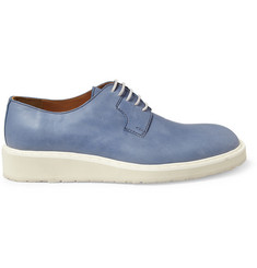 Maison Martin Margiela Washed-Leather Derby Shoes