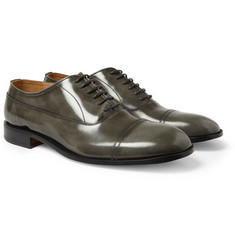Maison Martin Margiela High-Shine Leather Oxford Shoes