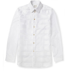 Paul Smith Woven-Stripe Cotton Shirt