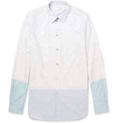 Paul Smith Slim-Fit Panelled Cotton Shirt