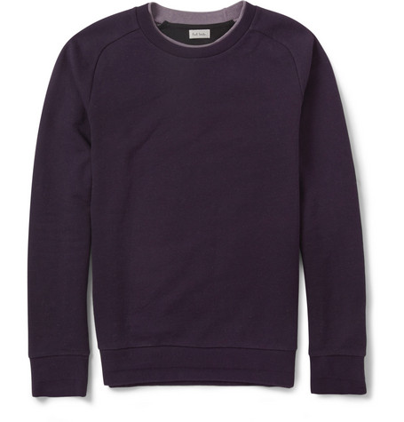Paul Smith Loopback Cotton-Jersey Sweatshirt