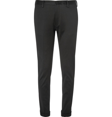 Paul Smith Slim-Fit Cotton-Blend Jersey Trousers