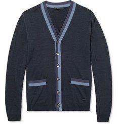 Gucci Knitted-Silk Cardigan
