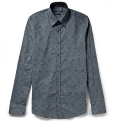Gucci Slim-Fit Printed Cotton Shirt