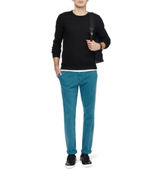 Gucci Slim-Fit Washed-Cotton Trousers