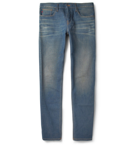 Gucci Slim-Fit Washed Jeans