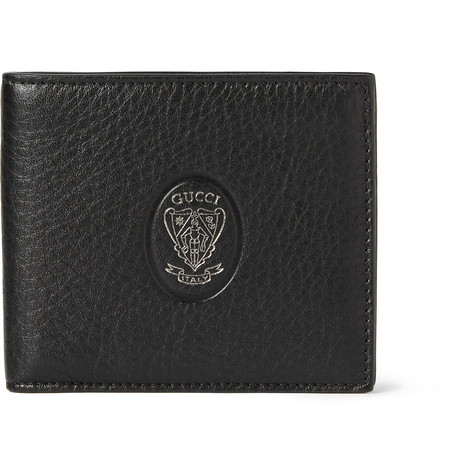 Gucci Embossed Full-Grain Leather BillFold Wallet