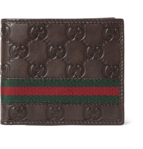Gucci Leather Billfold Wallet