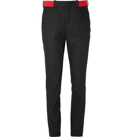 Alexander McQueen Slim-Fit Cotton-Twill Trousers