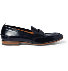 Alexander McQueen Leather Penny Loafers