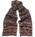 Marc by Marc Jacobs Patterned Merino Wool Scarf