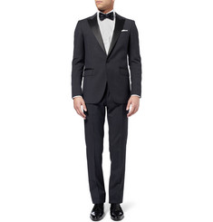 Lanvin Grey Slim-Fit Tropical Wool Tuxedo