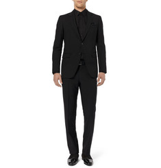Lanvin Black Slim-Fit Wool Suit