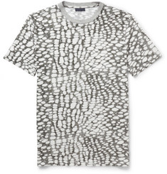 Lanvin Printed Cotton-Blend Jersey T-Shirt