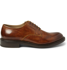 O'Keeffe Felix Hand-Polished Leather Derby Shoes