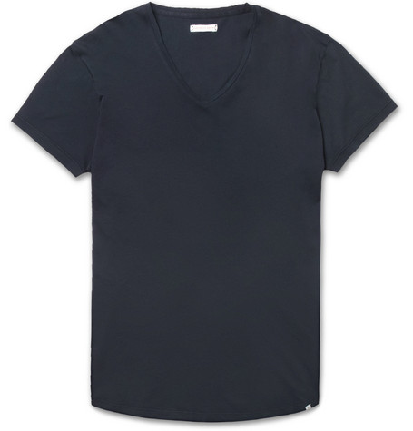 7ef39121bb2 Orlebar Brown - OB-V Slim-Fit Cotton-Jersey T-Shirt