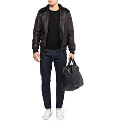 McQ Alexander McQueen Side-Zip Wool Sweater