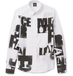 McQ Alexander McQueen Printed Cotton Shirt
