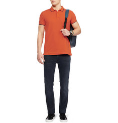 McQ Alexander McQueen Cotton-Piqué Polo Shirt