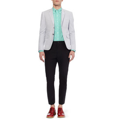 Thom Browne  Slim-Fit Linen Shirt