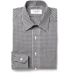 Thom Browne Slim-Fit Gingham Check Cotton Shirt
