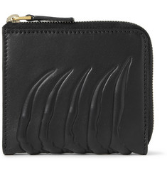 Alexander McQueen Embossed-Leather Coin Wallet