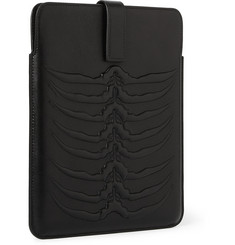 Alexander McQueen Embossed-Leather iPad Sleeve