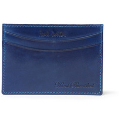 Paul Smith Shoes & Accessories Burnished-Leather Card Holder