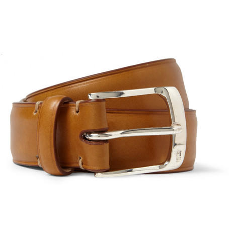 Paul Smith Shoes & Accessories Tan 3cm Leather Belt