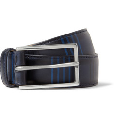 Paul Smith Shoes & Accessories 3cm Striped Leather Belt