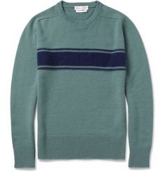 Michael Bastian Striped Cashmere Sweater