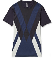 Neil Barrett Printed Cotton and Modal-Blend T-Shirt