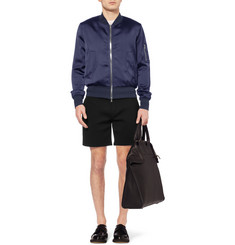 Neil Barrett Lightly Padded Satin Bomber Jacket