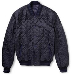 Brioni Reversible Leather Bomber Jacket