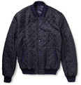 Brioni - Reversible Leather Bomber Jacket
