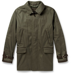 Brioni Cotton and Silk-Blend Raincoat