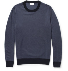 Brioni Patterned Knitted Cashmere Sweater
