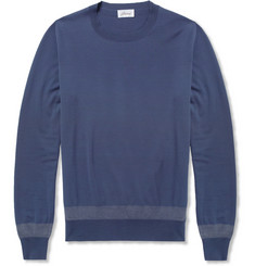Brioni Fine-Knit Wool Sweater