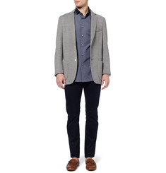 Brioni Slim-Fit Cotton-Poplin Shirt