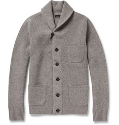 J.Crew Shawl-Collar Lambswool Cardigan