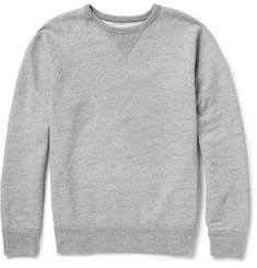 J.Crew Brushed Loopback Cotton-Jersey Sweatshirt